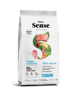 Pienso Sense Puppy Salmon y Pavo - 2kg