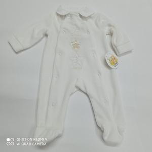 Pelele de bebé terciopelo estrellitas