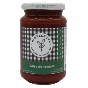 Salsa de tomate ecológico Bioselecta