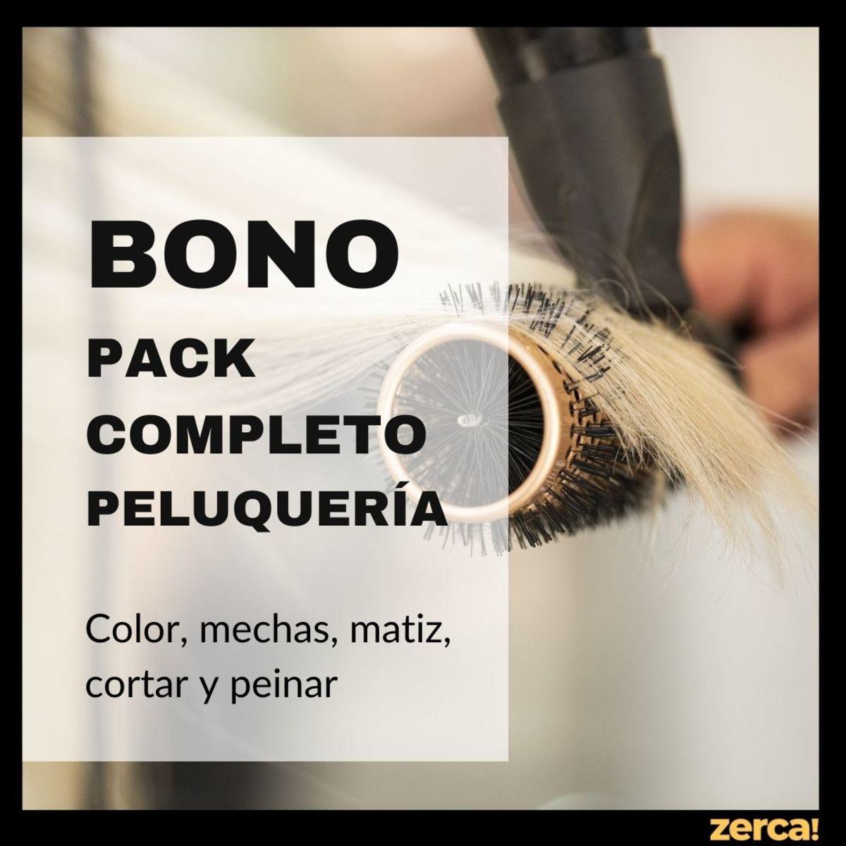 Pack completo peluquería