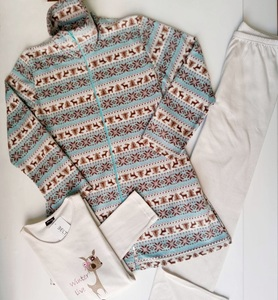 Pijama y Chaqueta Mujer Ciervo