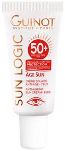 Crème Solaire Anti-Age Yeux SPF 50+ - Crema Solar Ojos - 15ml - Guinot
