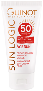 Guinot - Crème Solaire Anti-Age SPF 50 - Crema Solar Facial - 50ml