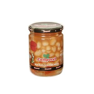 Pochas con Chorizo Camporel