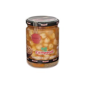 Garbanzos con chorizo Camporel