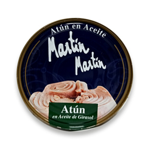 Atún en aceite Martín