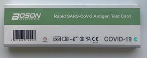 Test de antígeno Rápido SARS-CoV-2