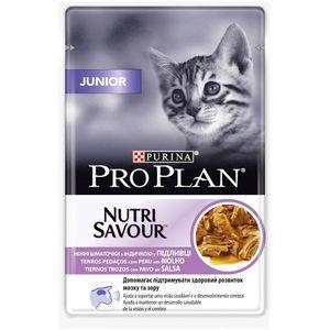 Purina Pro Plan gato sobres delicate pavo pack 24