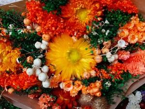Bouquet naranja