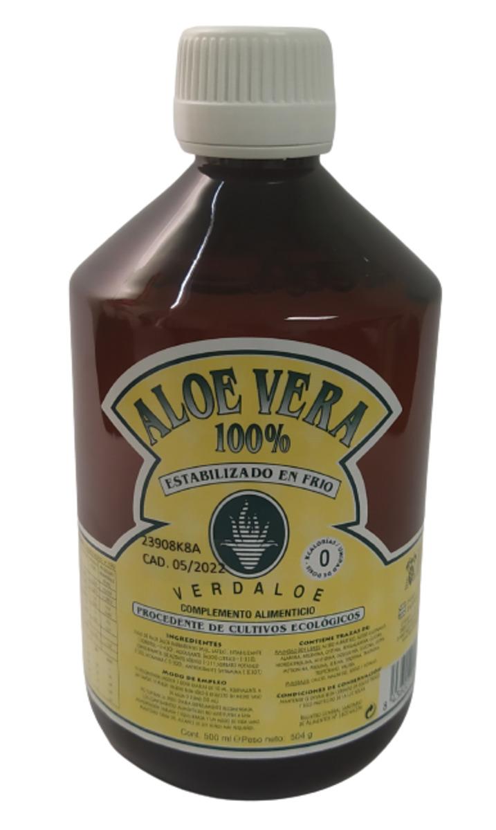 Verdaloe - Jugo Aloe Vera 100% Eco - 500ml