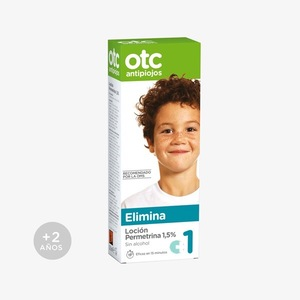 OTC Antipiojos Loción Permetrina 1,5 % 125 ML