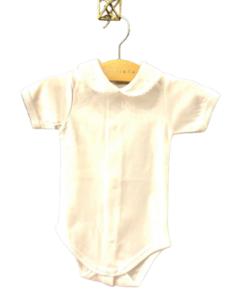 Body de bebé manga corta