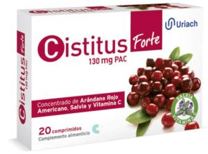 Cistitus Forte 130 mg PAC 20 Comprimidos.