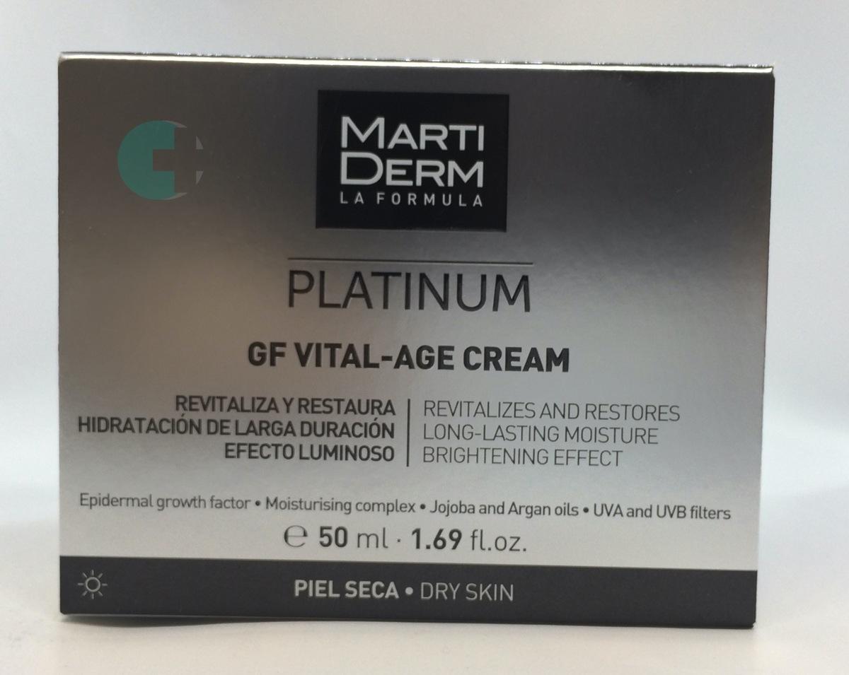 Crema para piel MartiDerm Platinum Vital-Age cream