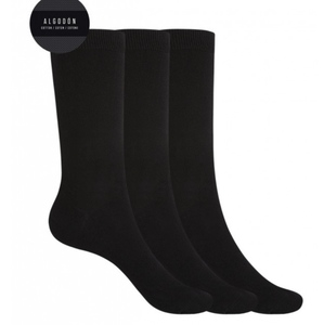Pack tres calcetines mujer