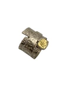 Anillo de plata y oro