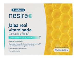 Acofarma Nesira Jalea Real Vitaminada 20 Viales Bebibles 10ml.