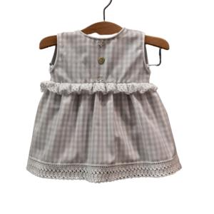 Vestidito bebé vichy