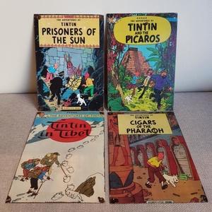 CHAPAS DE TINTÍN: Los cigarros del faraón. (Cigars of the pharaon)
