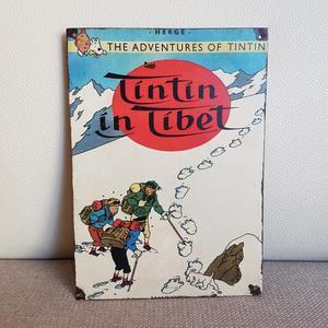 CHAPAS DE TINTÍN: Tintín en el Tibet. (Tintin in Tibet)