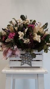 Caja flor preservada