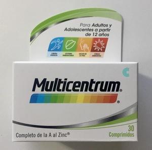 Multicentrum Vitaminas y Minerales 30 comprimidos