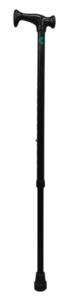 Bastón Muletilla Extensible Aluminio ACOFAR Negro.