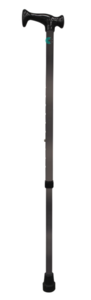 Bastón Muletilla Extensible Aluminio ACOFAR Gris.