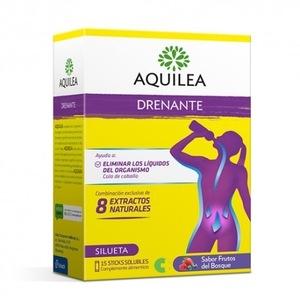 Aquilea Drenante Sabor Frutas Del Bosque 15 Sticks Solubles.