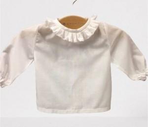 Blusa Bebé Volante de Batista.