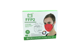 Pack mascarillas FPP2 Colores