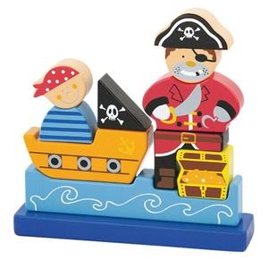 Puzzle Magnético 3D Pirata