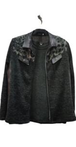 Conjunto  jersey y  chaqueta Sarfi