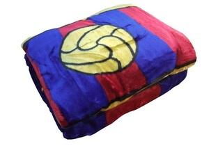 Manta terciopelo FC Barcelona 90cm