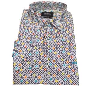 Camisa geométrica