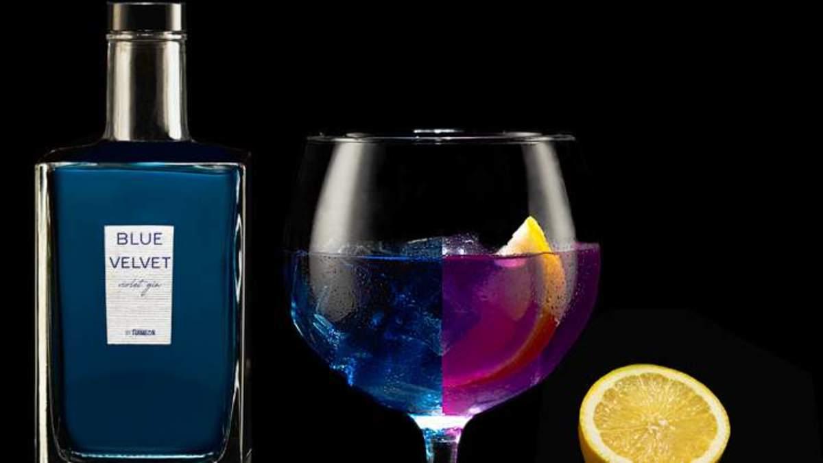 Ginebra Blue Velvet