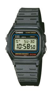 Reloj CASIO digital sumergible negro
