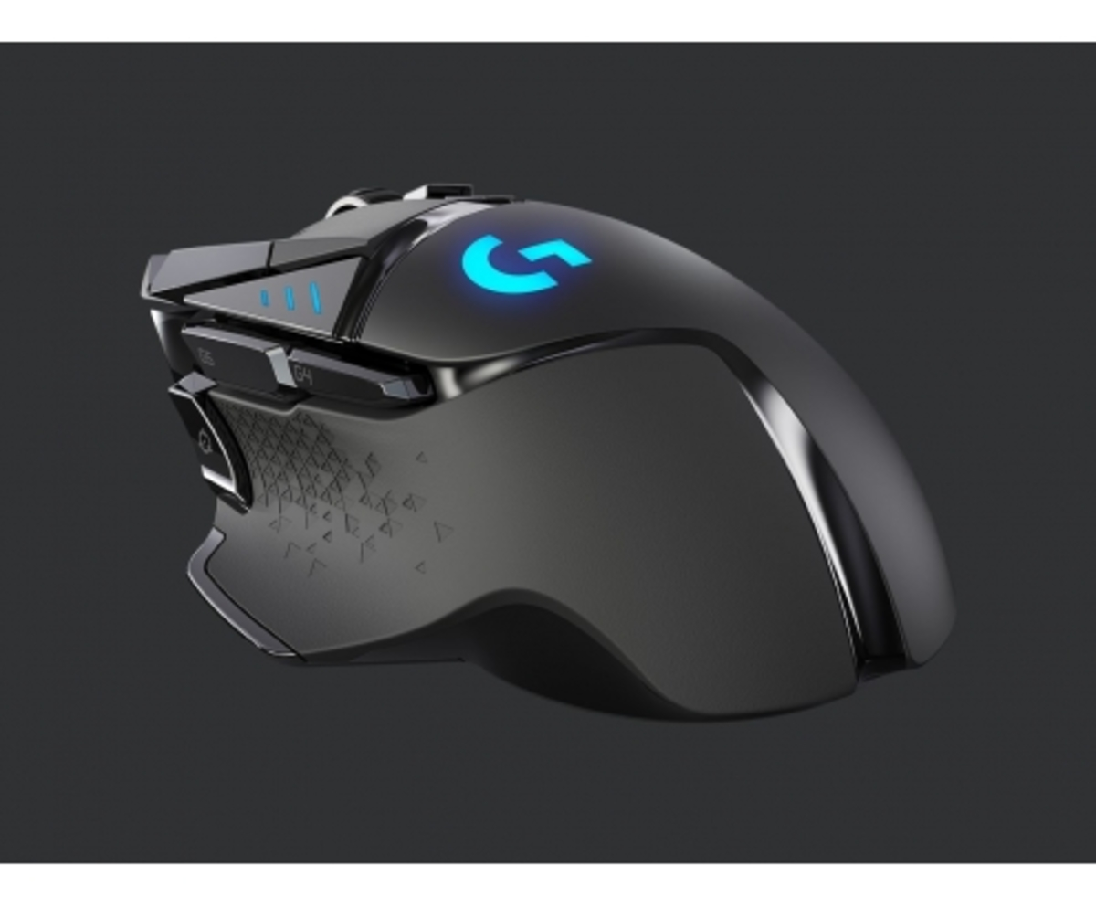 LOGITECH -G G502 ratón mano derecha RF inalámbrico 16000 DPI