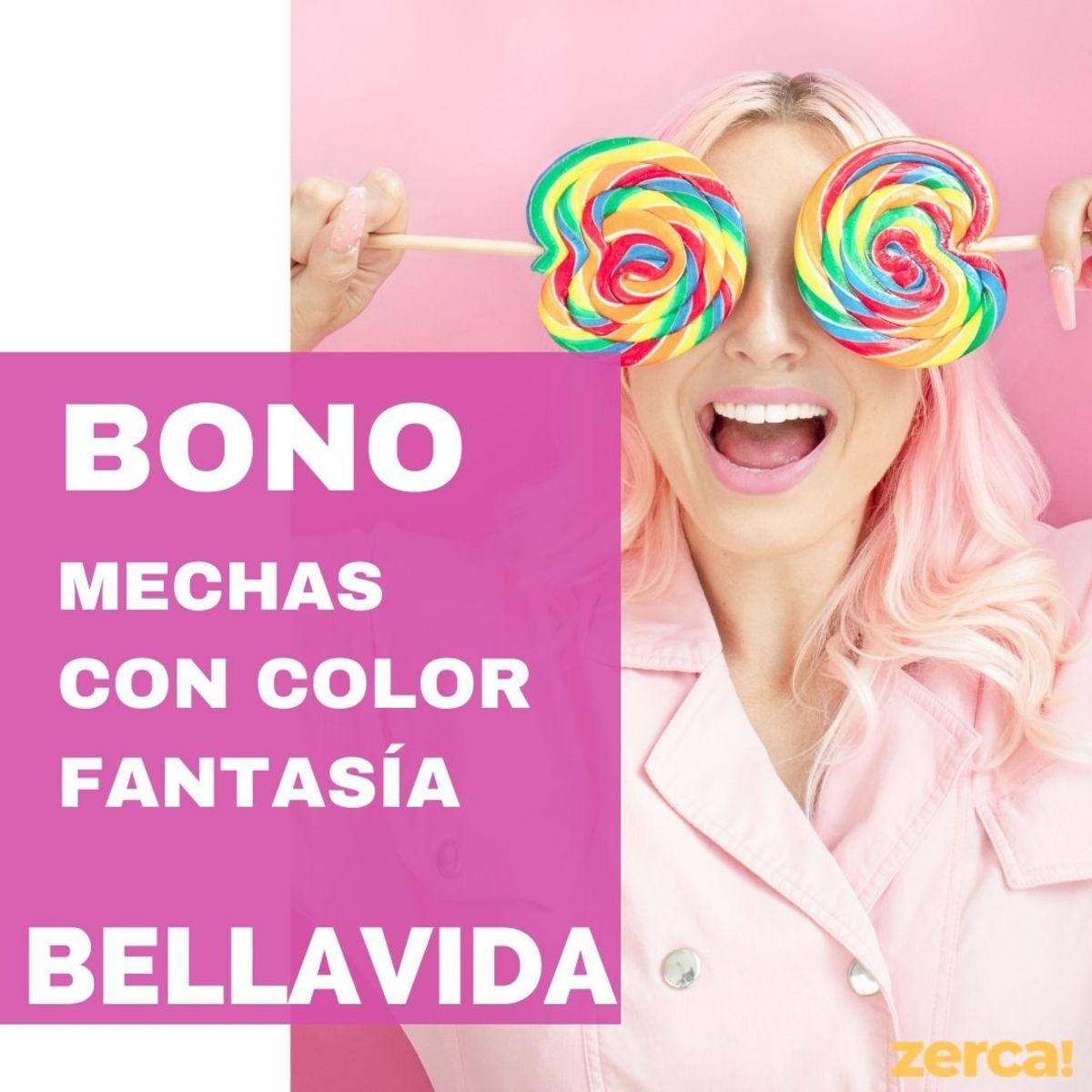 Mechas con Color Fantasía