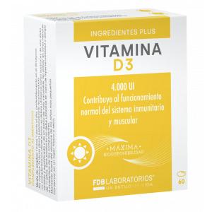 Vitamina D3 60 cápsulas