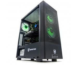 ZONE EVIL Nfortec30 Silver Ordenador Intel Core i7-9700F/16GB/480SSD/1TB/GTX1660/wifi