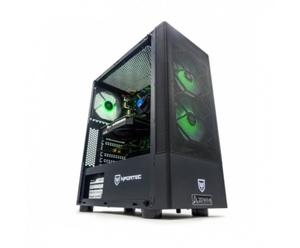 ZONE EVIL Nfortec57 Silver Ordenador Intel i5-11400F/16GB/480GB SSD 1TB/GTX 1660/ Wifi Negro