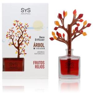 AMBIENTADOR SYS DIFUSOR ARBOL frutos rojos 90ml.