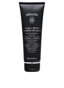 APIVITA CLEANSING BLACK DETOX JELLY 150ML