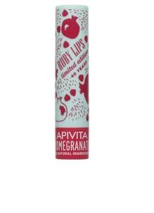 APIVITA LIP CARE LABIAL POMEGRANATE 4,4 G