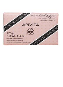 APIVITA JABON NATURAL DE ROSA 125 G