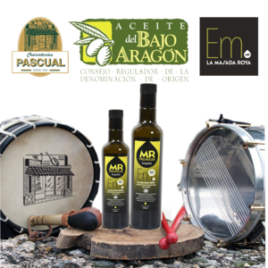 Aceite Virgen Verde Premium D.O. Bajo Aragón - Masada Roya - 500 ml