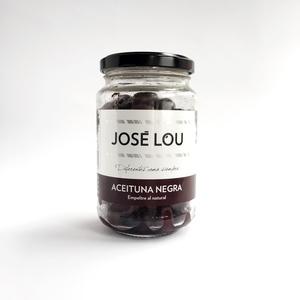 Aceituna negra Empelte al Natural José Lou