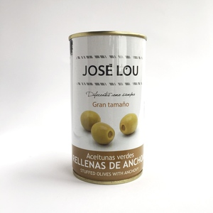 Aceitunas José Lou rellena de anchoas