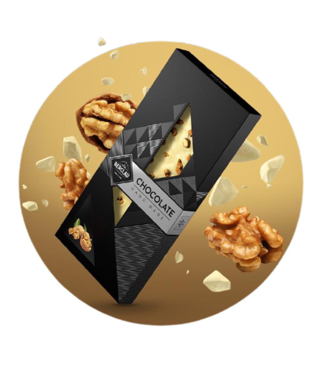 Chocolate Blanco con Nueces Berclau